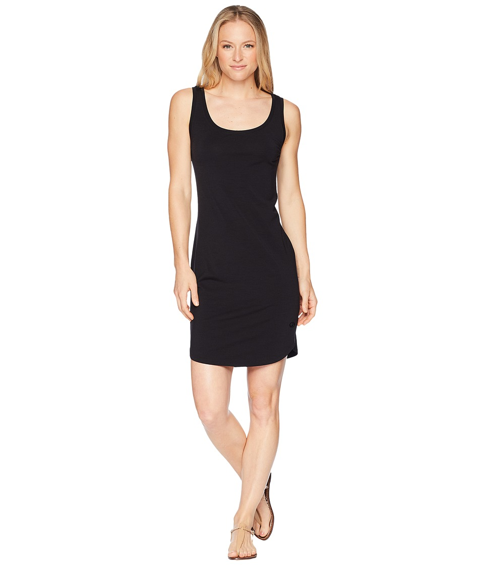 Icebreaker - Yanni Merino Tank Dress (Black) Womens Dress