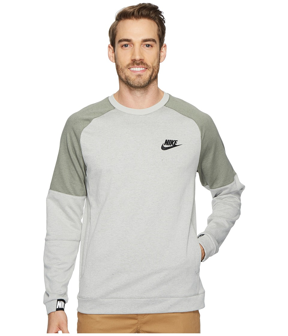 Nike Sportswear Advance 15 Crew (Light Bone/Black/Dark Stucco/Black) Men