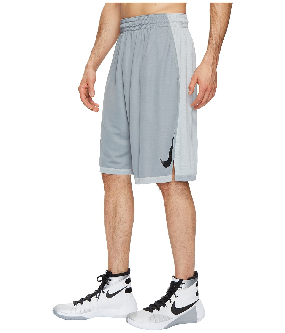 Nike Dry Dribble Drive Basketball Short (Wolf Grey/Black) Men