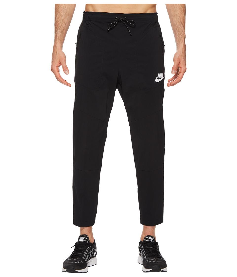 Nike - Sportwear Advance 15 Pant (Black/Black/White) Mens Casual Pants