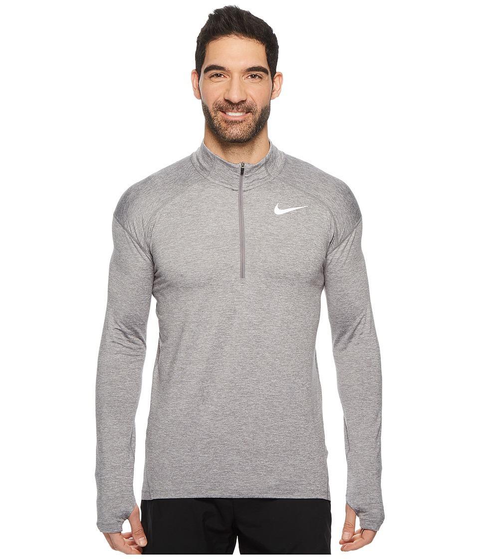 Nike Dry Element 1/2 Zip Running Top (Gunsmoke/Atmosphere...