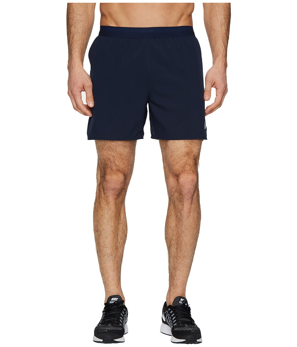 Nike Flex Stride 5 Running Short (Obsidian/Atmosphere Grey) Men
