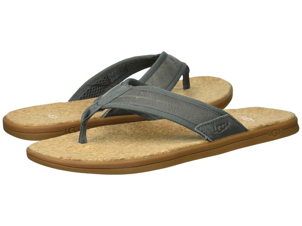 UGG - Seaside Flip (Seal) Men's Sandals