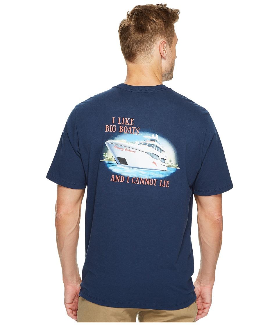 Tommy Bahama Big Boats T-Shirt (Navy) Men