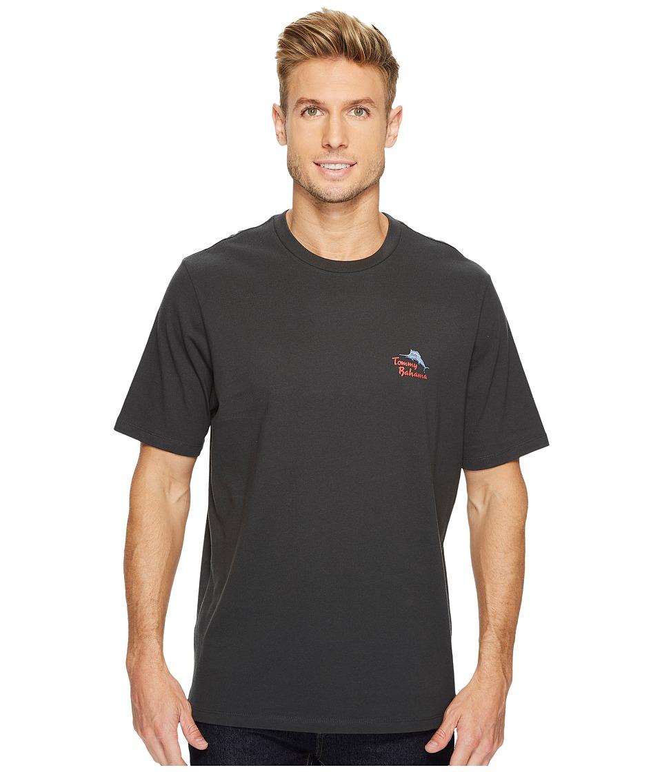 Tommy Bahama Gulp Fiction T-Shirt (Coal) Men