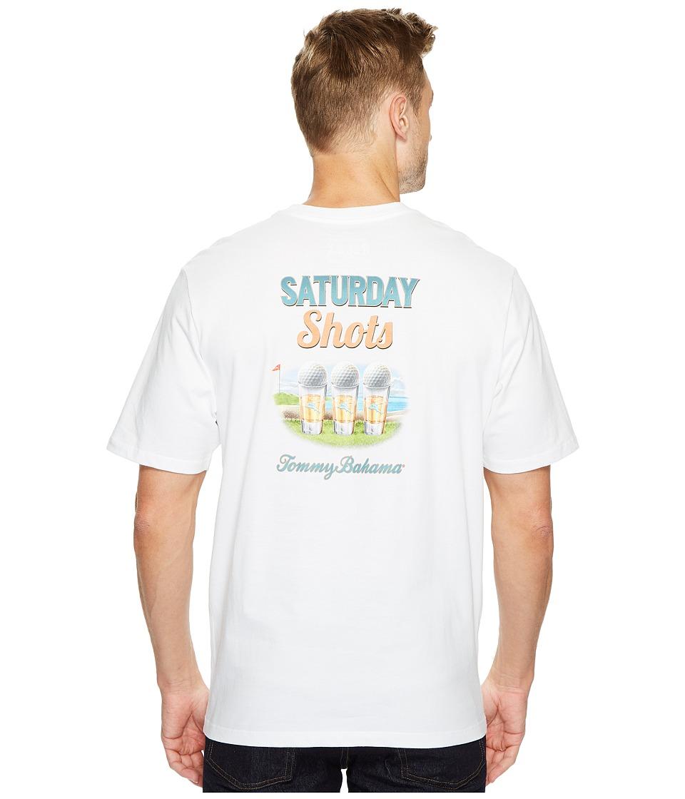 Tommy Bahama Saturday Shots T-Shirt (White) Men