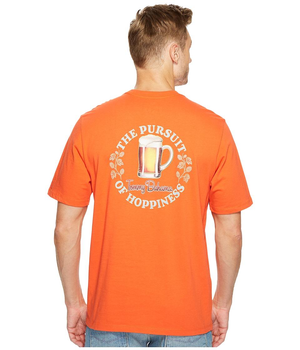 Tommy Bahama The Pursuit of Hoppiness T-Shirt (Blazing Orange) Men