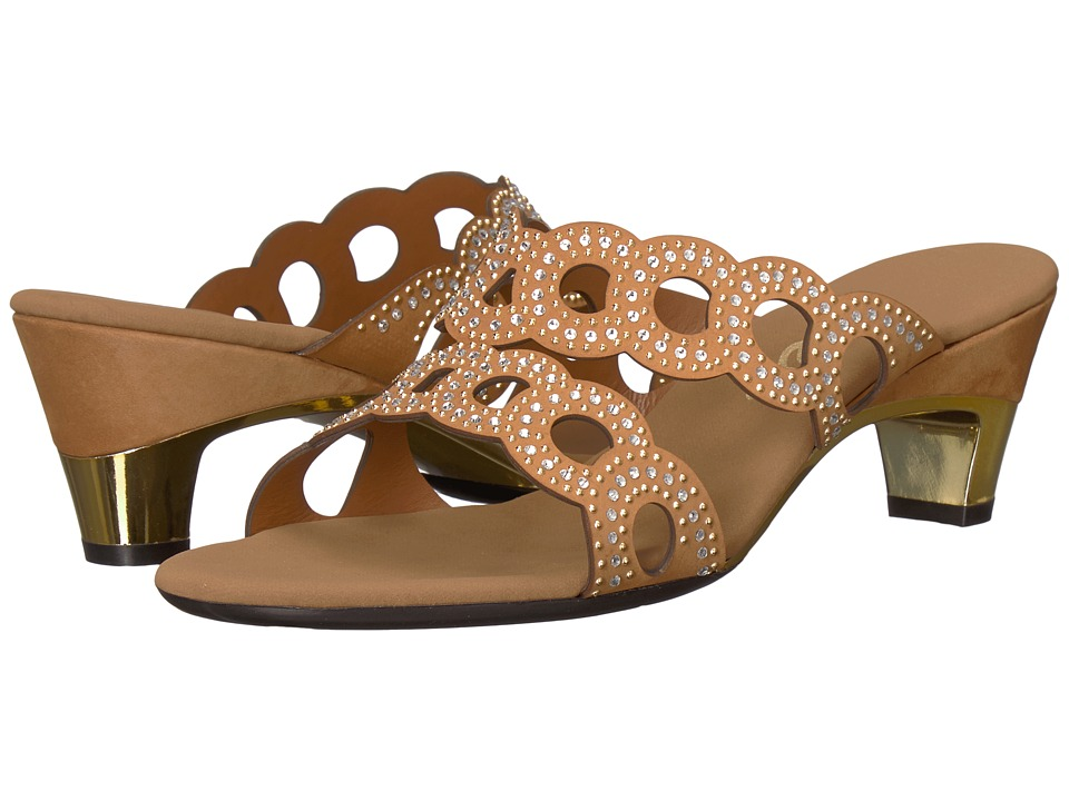 Onex Elise (Taupe) Women's Dress Sandals