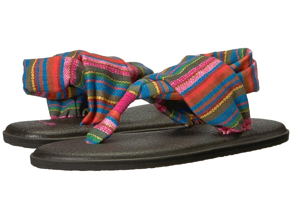 Sanuk Yoga Sling 2 Prints (Cabaret Kauai Blanket) Sandals