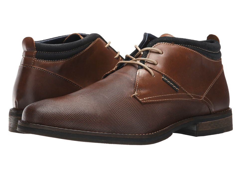PARC City Boot - Central Grid (Cognac) Mens Shoes