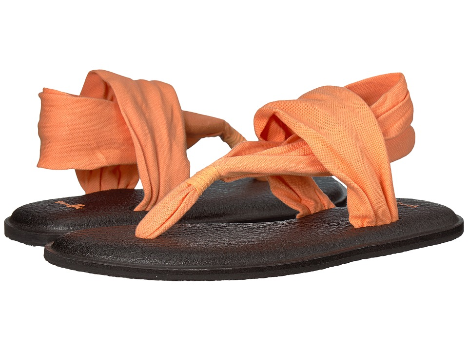 Sanuk Yoga Sling 2 (Papaya) Sandals