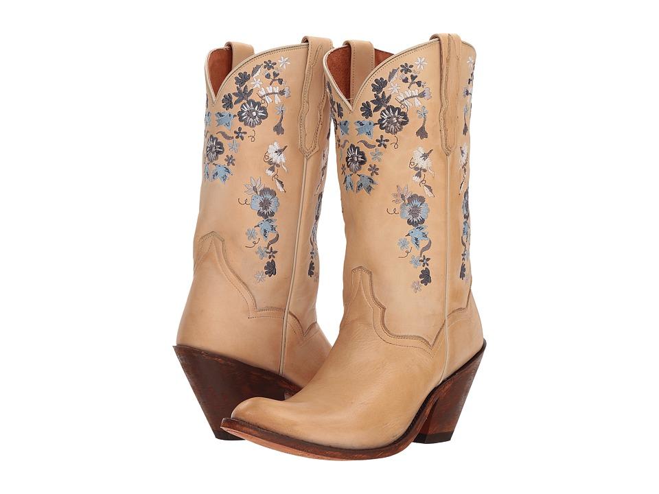Dan Post Flower Girl (Bone) Women's Pull-on Boots