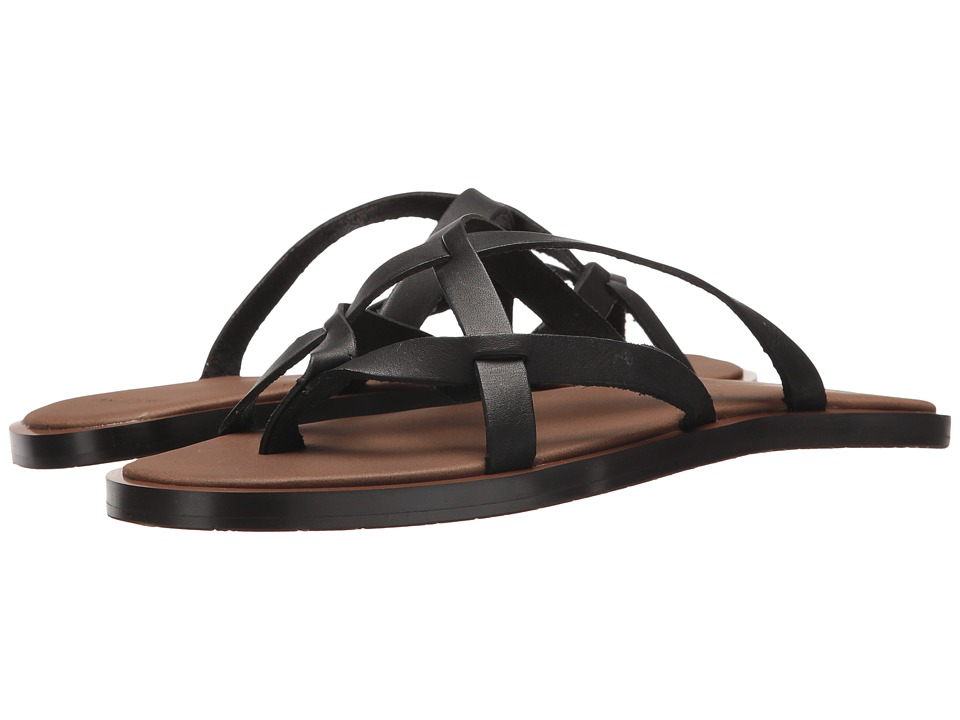 Sanuk - Yoga Strappy (Black) Women's Sandals