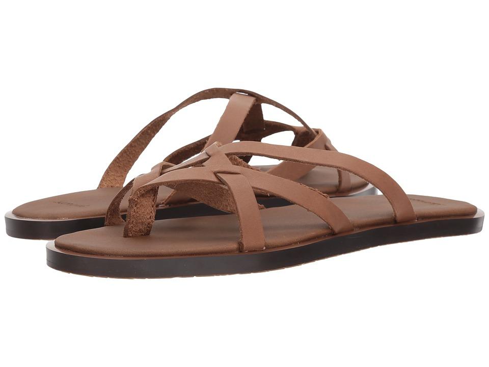 Sanuk Yoga Strappy (Tobacco) Sandals