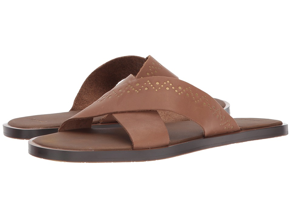 Sanuk - Yoga Adley (Tobacco/Gold) Women's Sandals