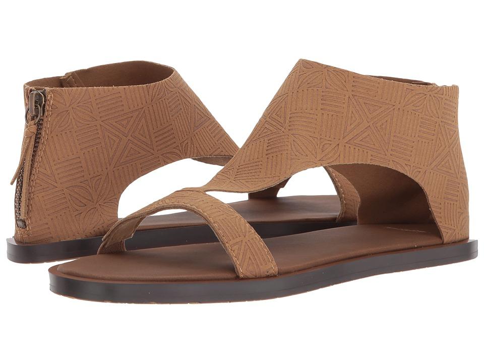 Sanuk Yoga Dawn TX (Tobacco) Sandals