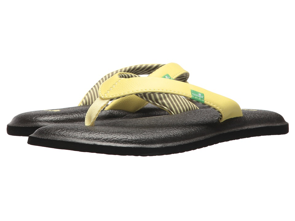Sanuk Yoga Chakra (Yellow Pear) Sandals