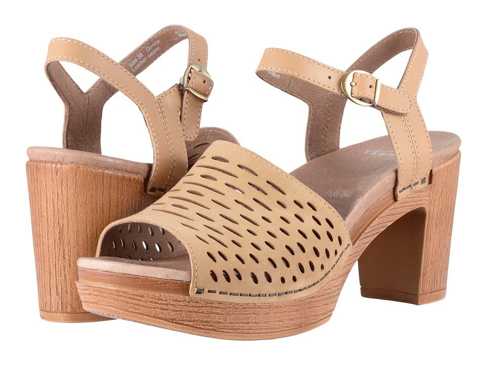 60s Shoes, Boots | 70s Shoes, Platforms, Boots Dansko - Denita Sand Milled Nubuck High Heels $149.95 AT vintagedancer.com