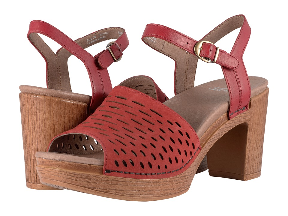 DanskoDenita  (Red Milled Nubuck) High Heels