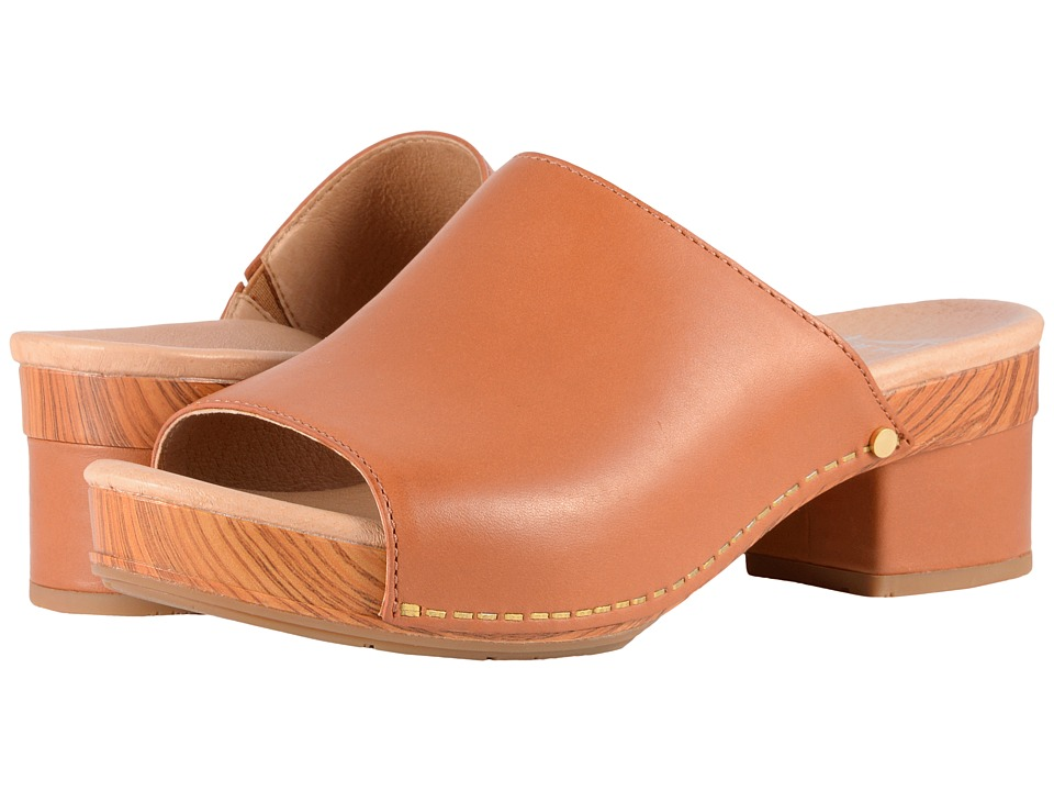 Dansko - Maci (Camel Full Grain) Women's Sandals