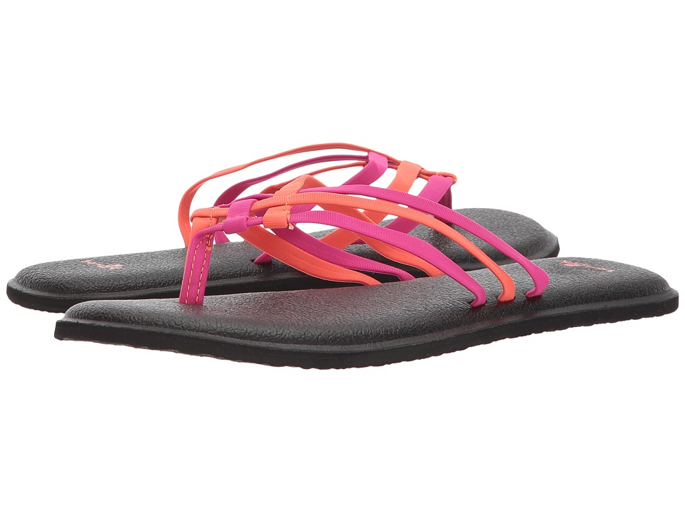 Sanuk - Yoga Salty (Cabaret/Nasturtium) Women's Sandals