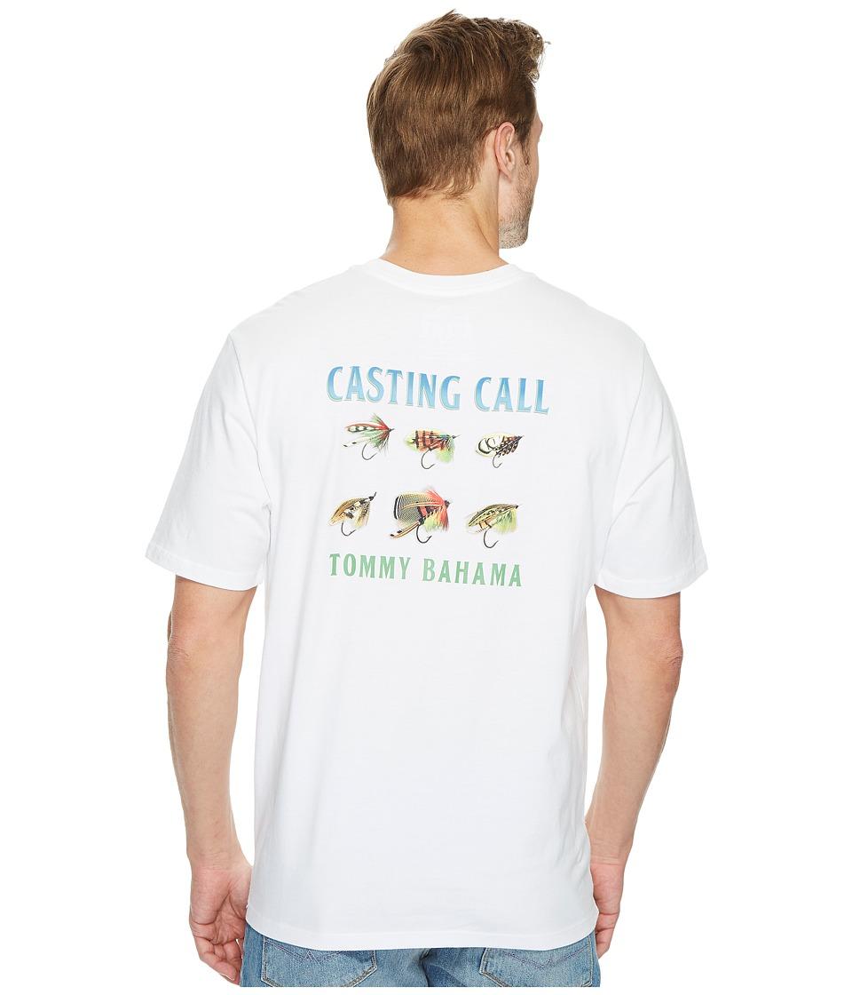 Tommy Bahama Casting Call T-Shirt (White) Men
