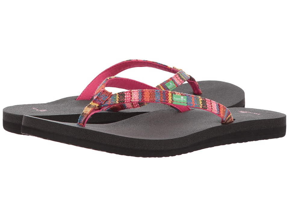 Sanuk - Yoga Joy Funk (Cabaret Kauai Blanket) Women's Sandals