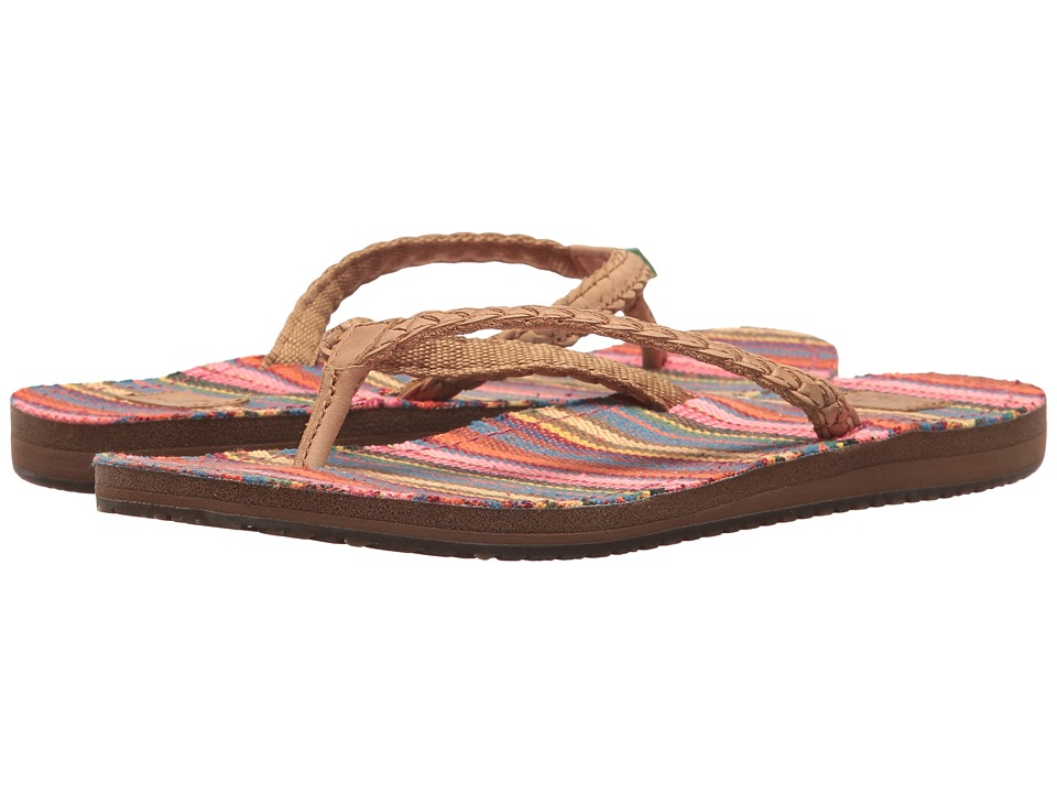Sanuk - Yoga Poncho Viva (Cabaret Kauai Blanket) Women's Sandals