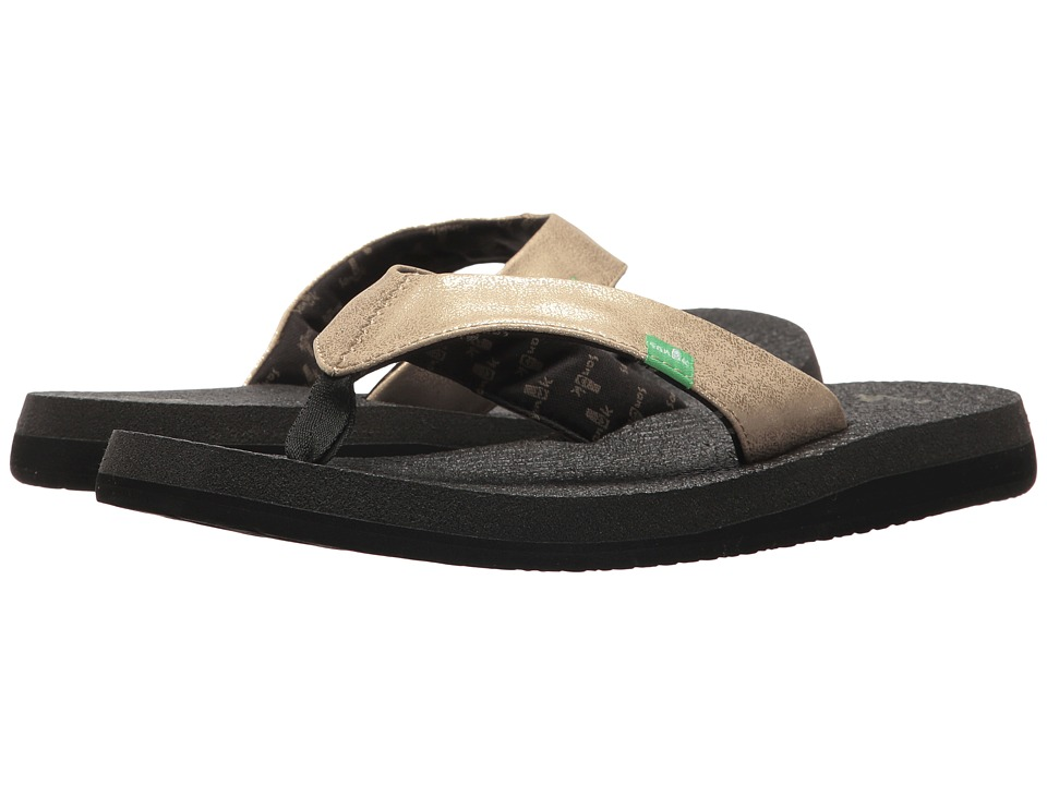 Sanuk - Yoga Glam (Champagne) Women's Sandals
