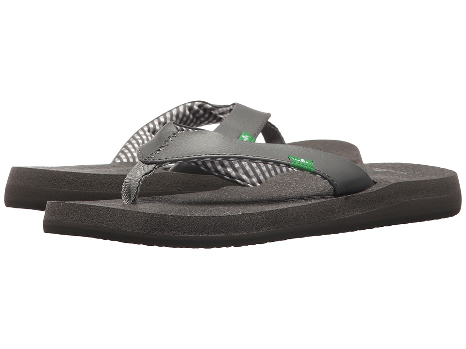 Sanuk - Yoga Mat Tonal (Grey) Women's Sandals