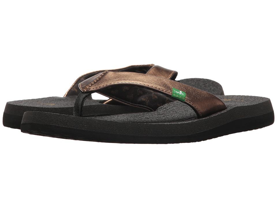 Sanuk Yoga Glam (Bronze 2) Sandals