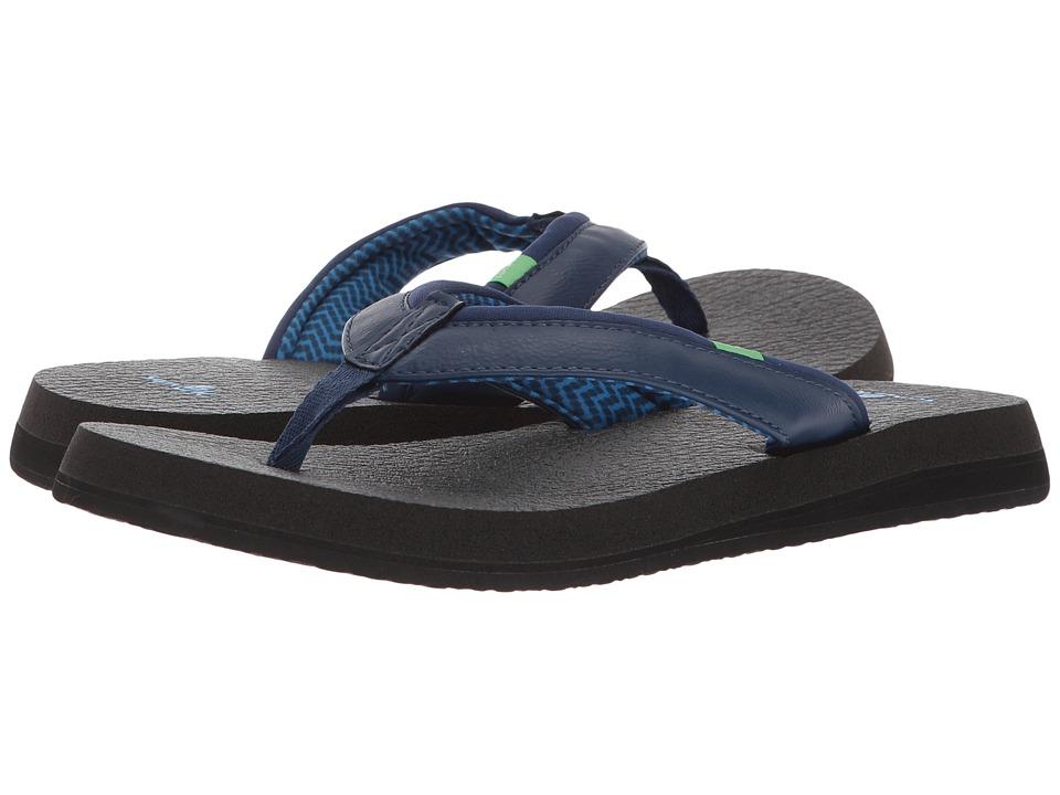 Sanuk Yoga Mat 2 (Navy) Sandals
