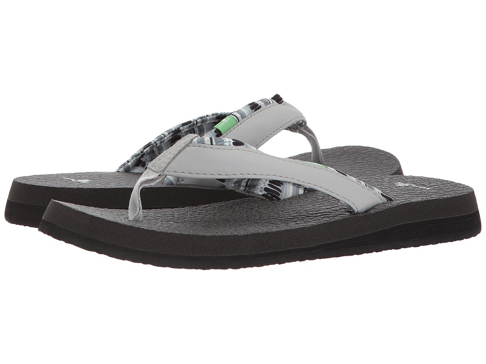 Sanuk - Yoga Mat 2 Prints (Harbor Mist) Women's Sandals