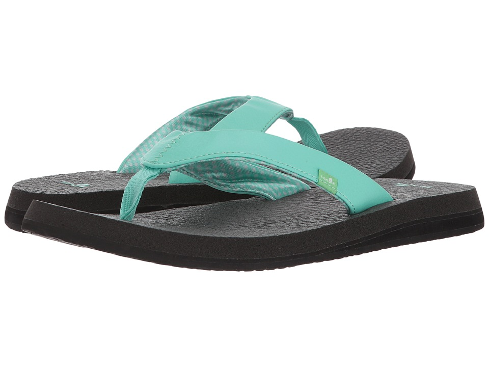 Sanuk - Yoga Mat (Opal) Women's Sandals