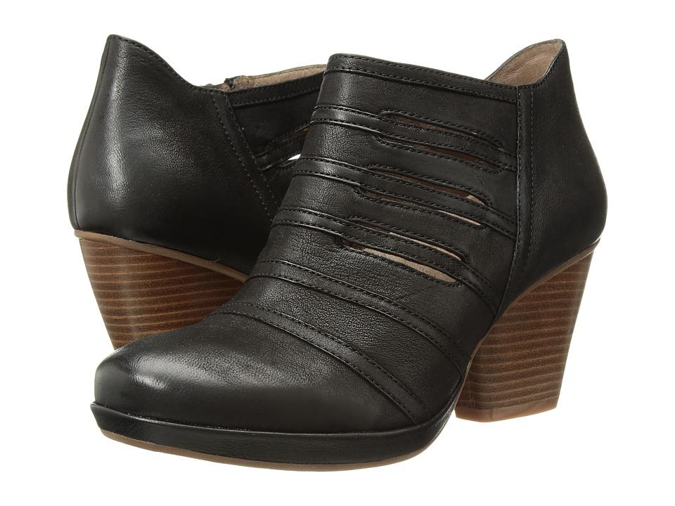 Dansko Meadow (Black Burnished Nubuck) High Heels