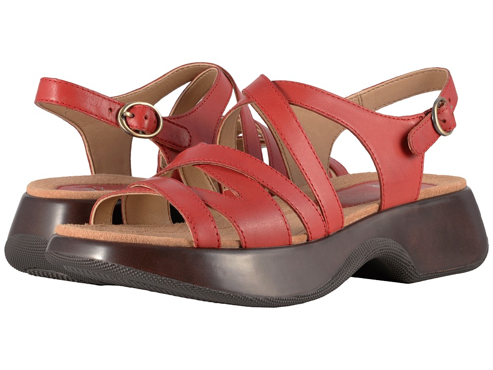 Dansko - Lolita (Tomato Full Grain) Women's Sandals