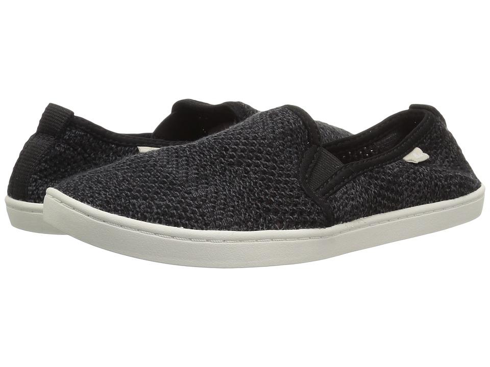 Sanuk Brook Knit (Black) Slip-On Shoes