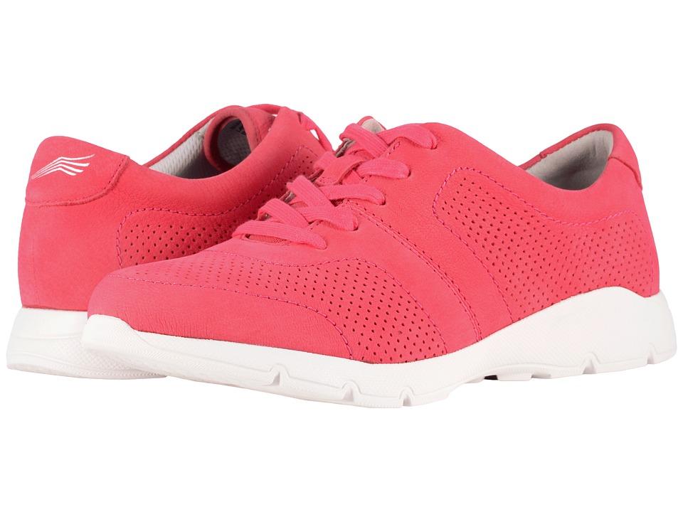 Dansko Alissa (Raspberry Milled Nubuck) Women's  Shoes