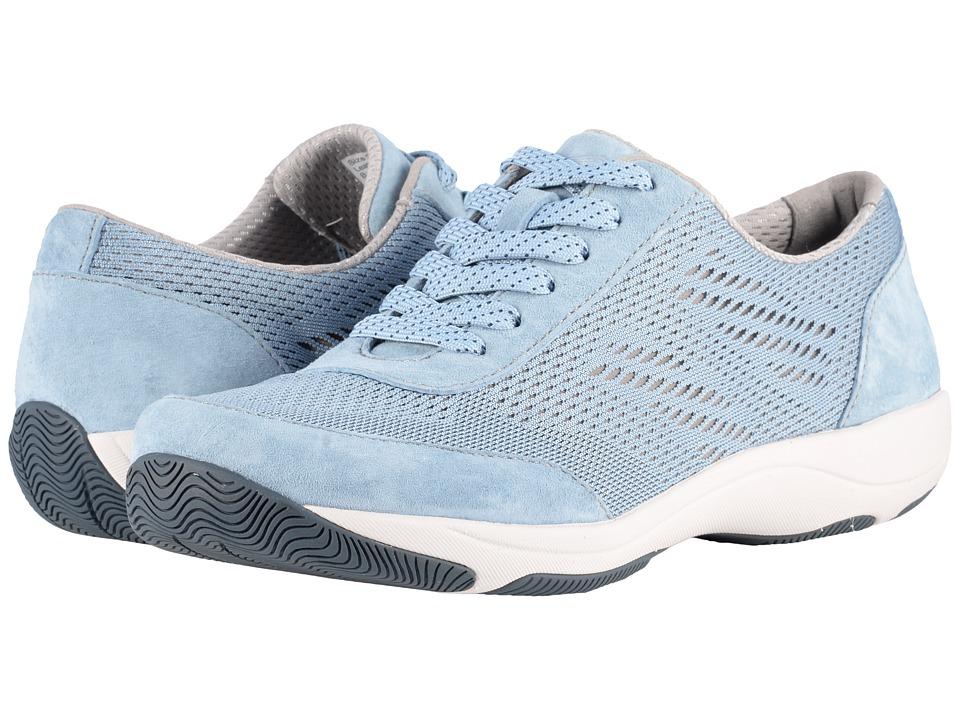 Dansko Hayes (Light Blue Suede) Women's Shoes