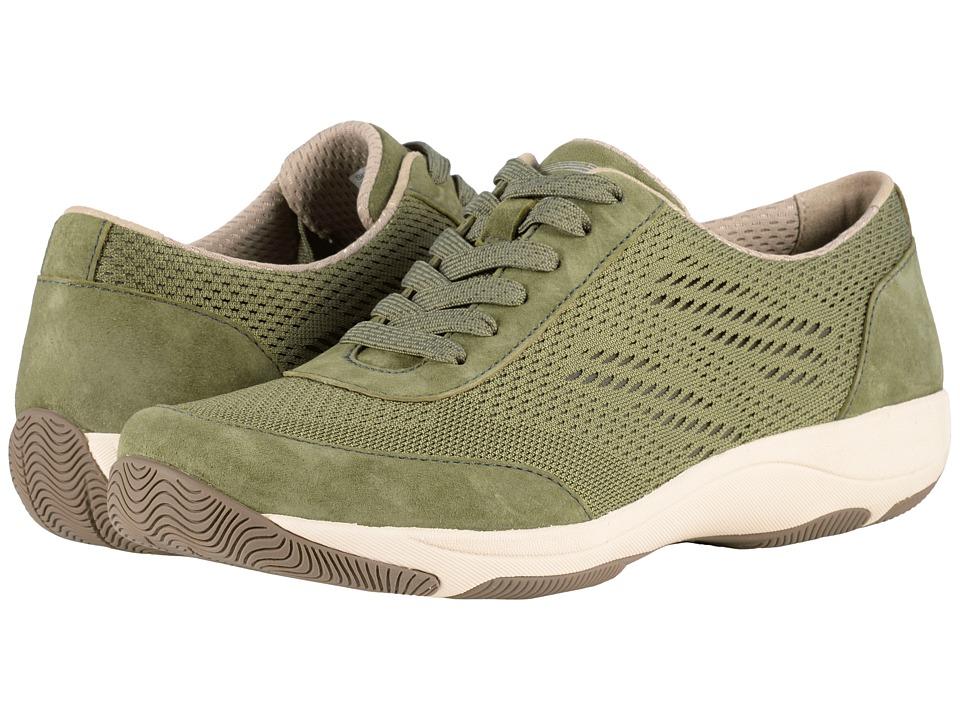 Dansko Hayes (Olive Suede) Women's Shoes