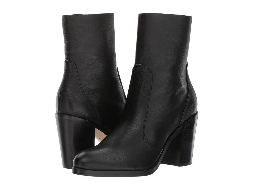 Splendid Roselyn (Black Leather) Women's Shoes