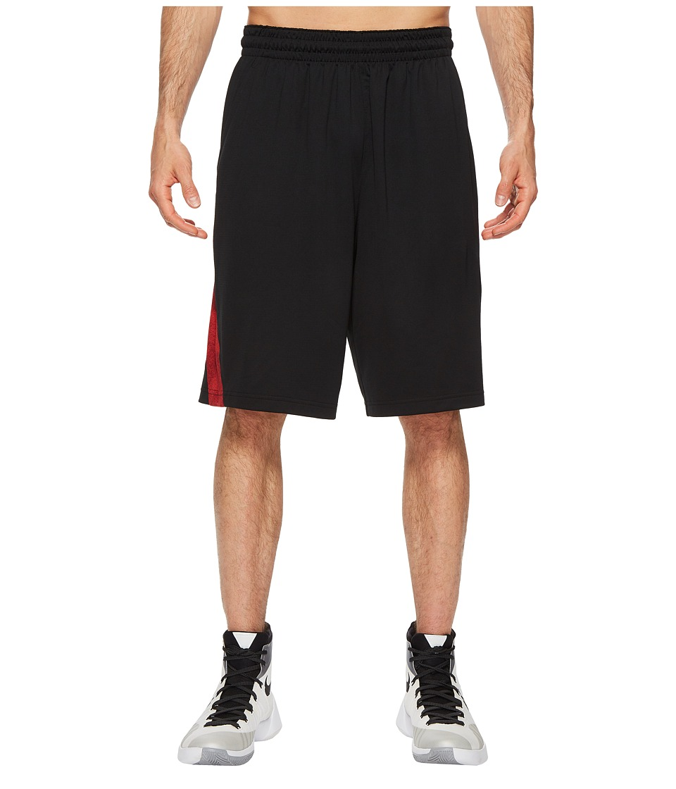Nike Dry Buckets Basketball Short (Black/University Red) Men