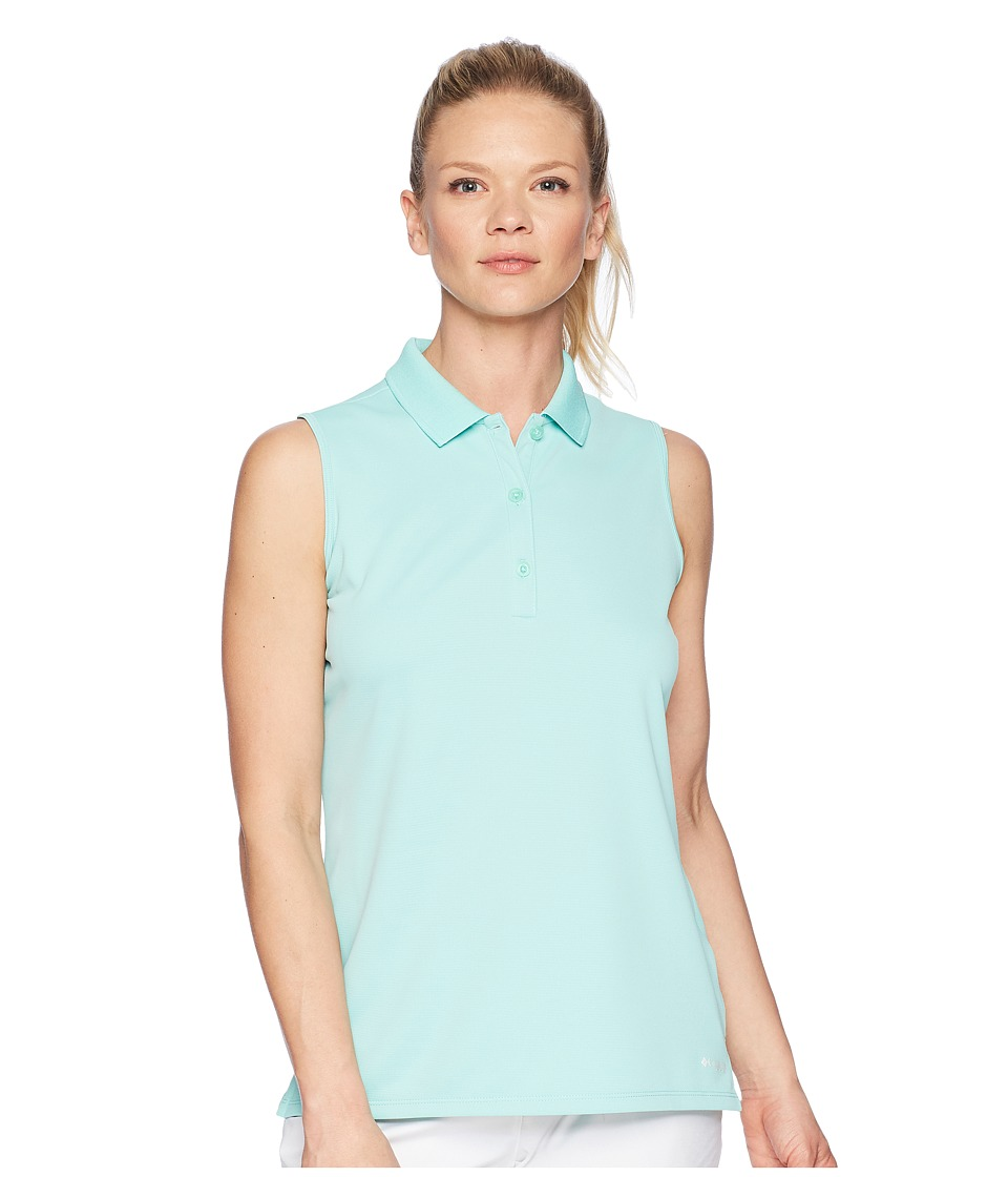 Columbia - Innisfreetm Sleeveless Polo Shirt (Pixie) Womens Sleeveless