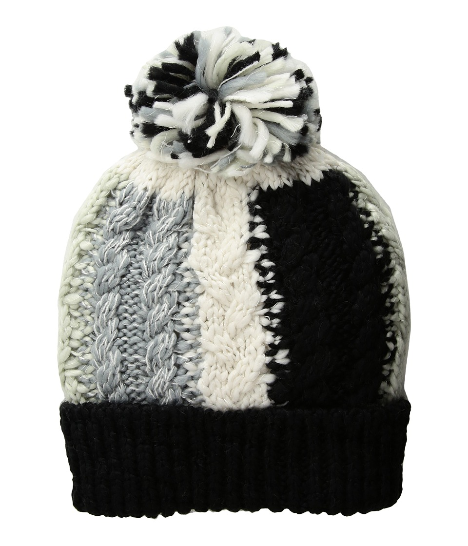 BCBGeneration - Color Blocked Cable Beanie