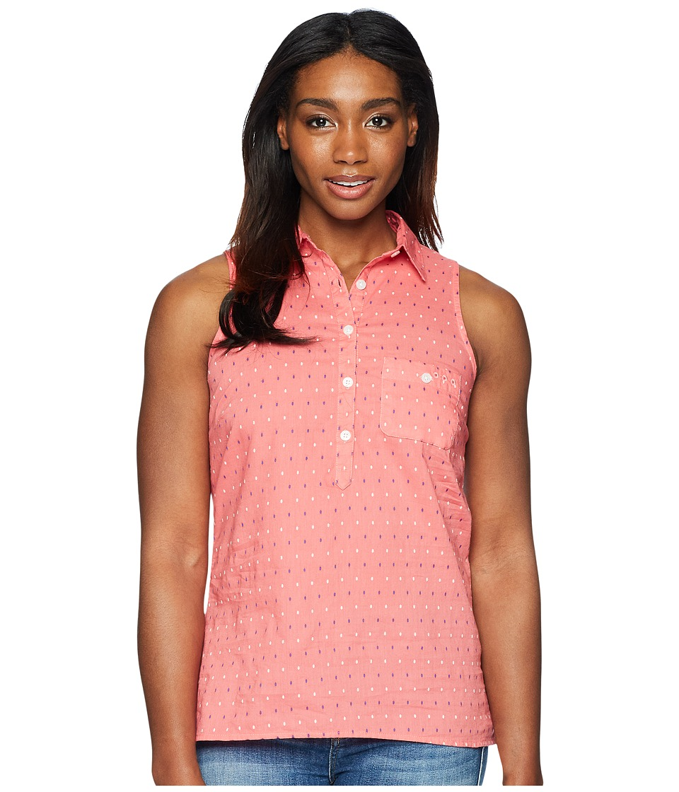 Columbia - Sun Driftertm Sleeveless Shirt (Lollipop Multi Swiss Dot) Womens Sleeveless