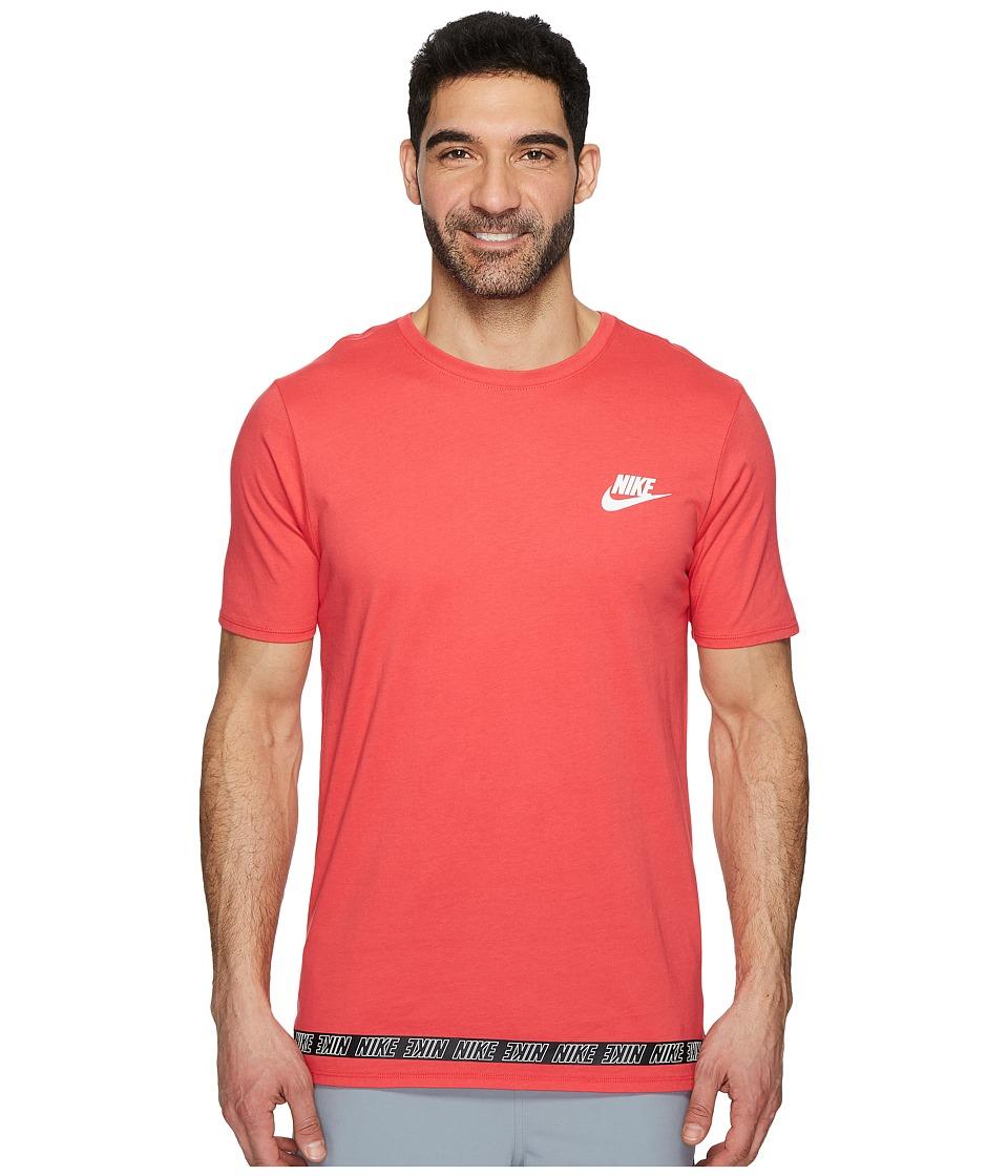 Nike Sportswear Droptail T-Shirt (Tropical Pink/White) Men