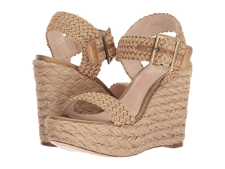 Stuart Weitzman Alexis (Dorado Crochet) Women's Shoes