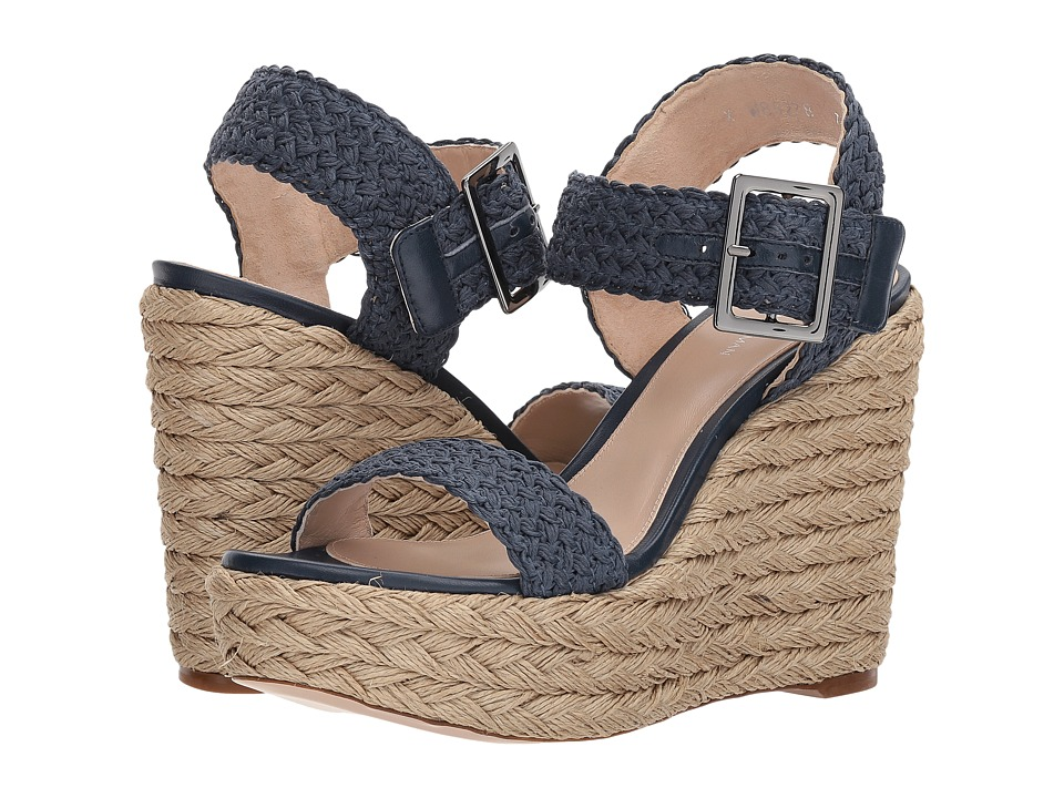 Stuart Weitzman Alexis (Nice Blue Crochet) Women's Shoes