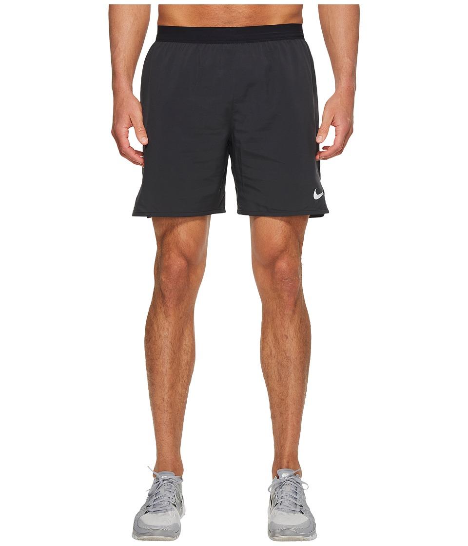 Nike Flex Distance 7 Lined Running Short (Black/Black) Men