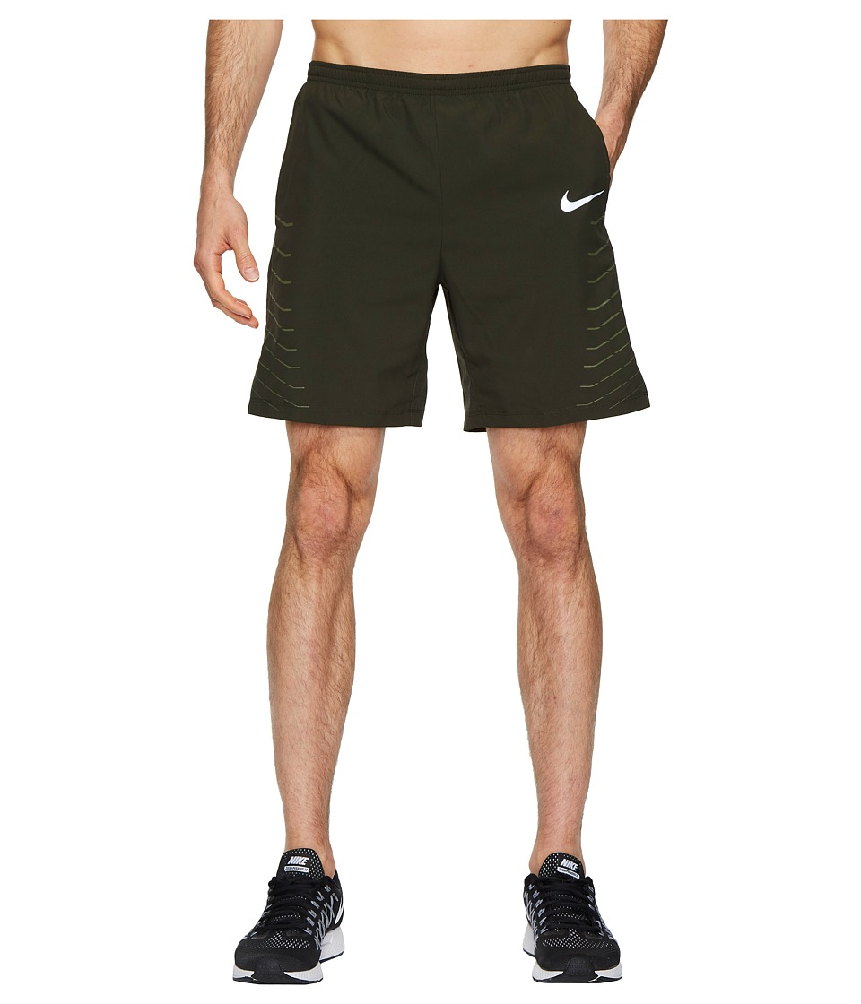 Nike Flex Challenger 7 Running Short (Sequoia/Medium Olive) Men